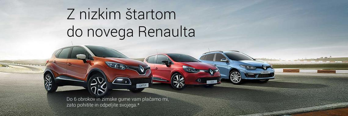 Z nizkim štartom do novega Renaulta