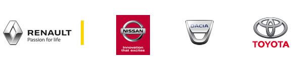 Renault, Nissan, Dacia, Toyota