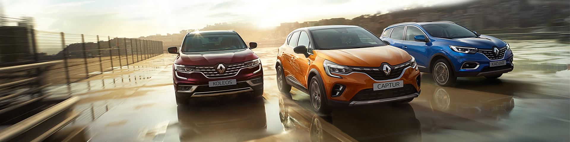 Renault SUV range 2020_1920x480 (slider naslovna)